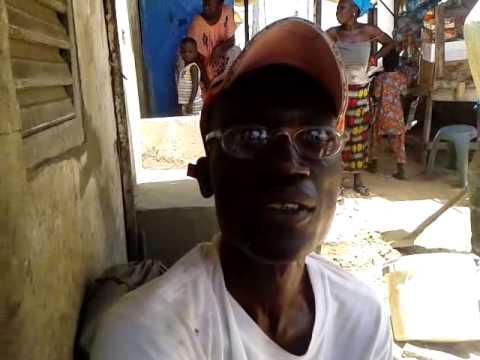 Témoignage de l'éffondrement à Gand Médine part 1