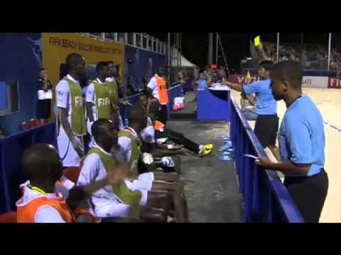 resume beach soccer: Brésil 8-3 Sénégal