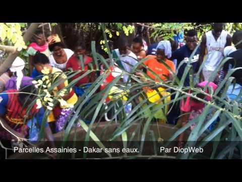 Parcelles Assaines   Dakar sans eau