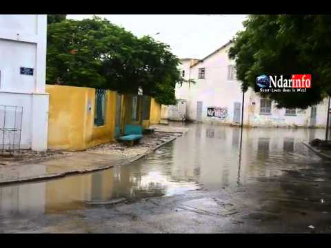 Inondations saint louis senegal
