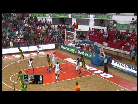 #FIBAAfrobasketWomen - : Cameroon v Senegal (Highlights)
