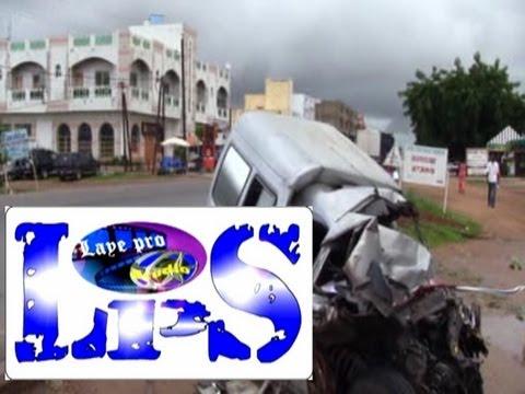 Accident mortel a mbour devant la poste de douane  regardez la vidéo