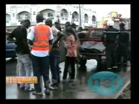 [Vidéo] L'accident de la circulation à Mbour, trois morts et deux blessés gr