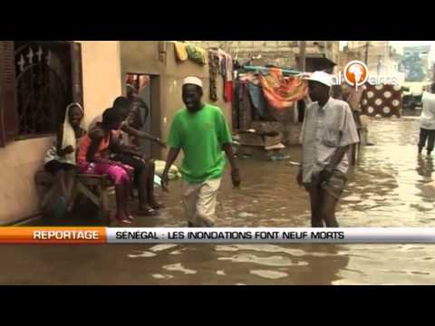 Sénégal : Des inondations font 9 morts