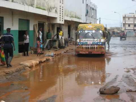 RFI - Reportage sur le rapport sur les inondations au Senegal